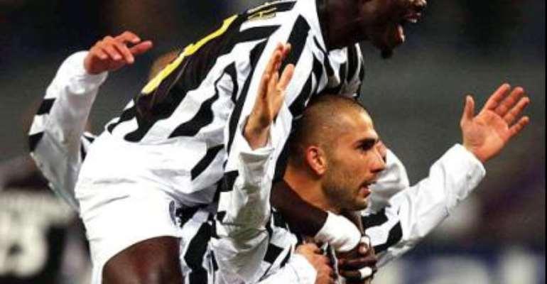 Appiah happy at Juventus