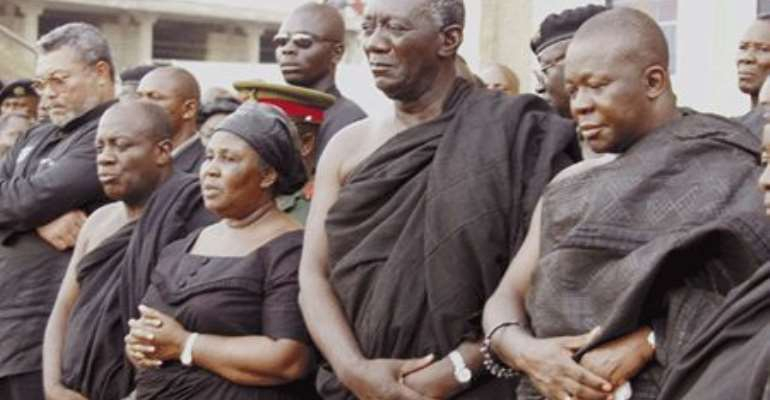 Ghanaians love the dead; neglect the living