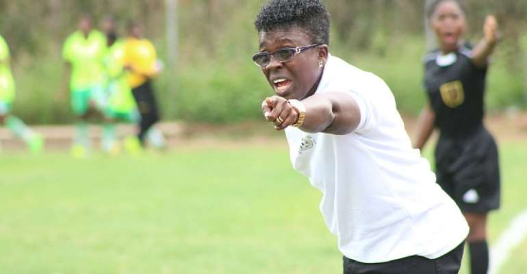 Black Queens Coach Mercy Tagoe Admits Team Didn't Impress In Their 2-0 Win Over Gabon