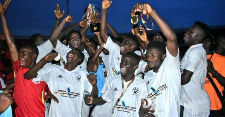 Attram De-Visser FC Conquer Greater Accra to Lift Maiden FA Special Competition Trophy