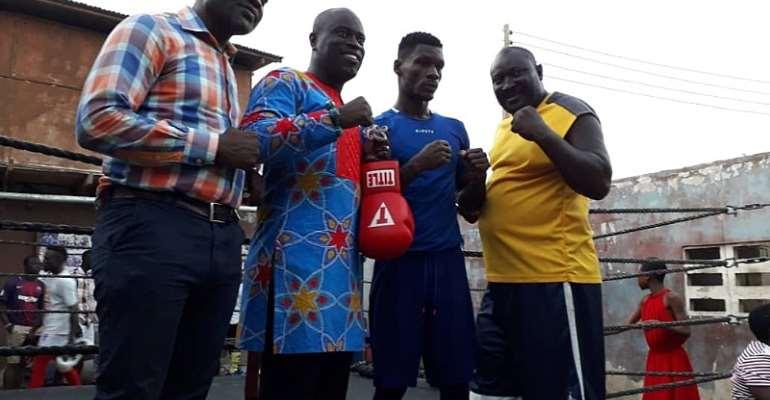 Charles Quartey Boxing Foundation Hosts Patrick Allotey