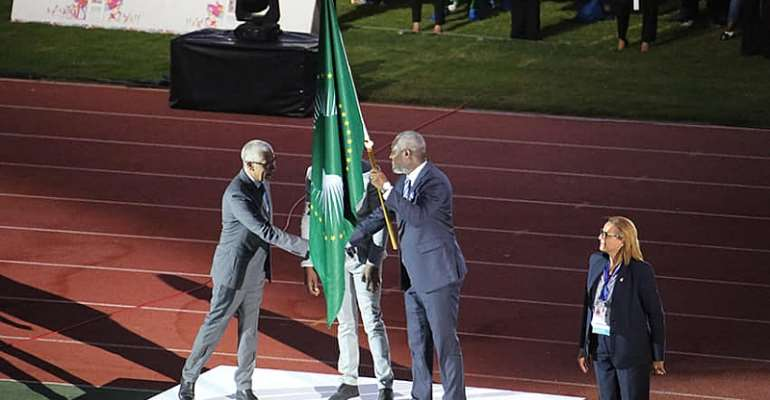Ghana Officially Handed AG Flag To Host 2023 Games