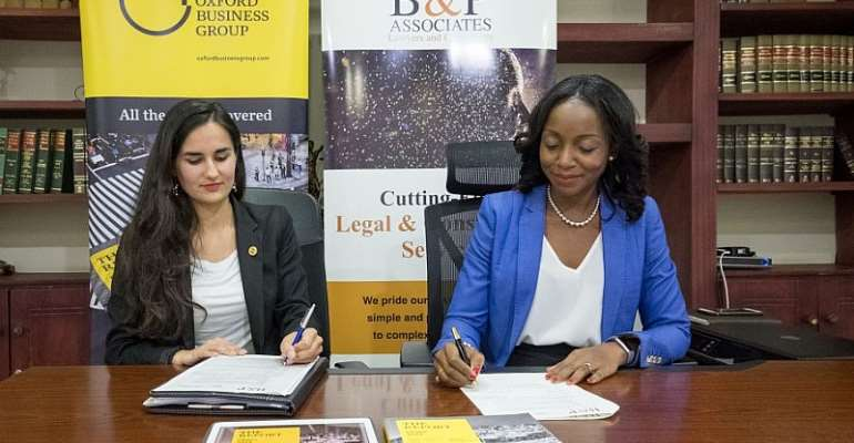 Emilie Bertincourt, country director for Oxford Business Group in Ghana