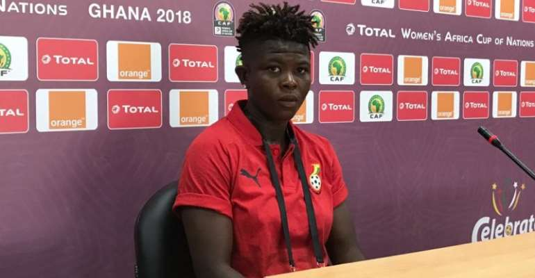 We Will Polish Our Finishing Before Kenya Clash – Black Queens Midfielder Priscilla Okyere