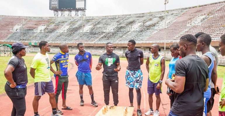 Akwasi Frimpong Coaches Nigeria On Discovering Next Winter Olympians