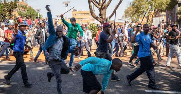 Still on Xenophobic Attacks on Nigerians in South Africa