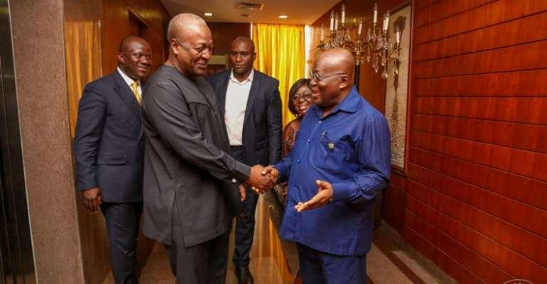 Mahama Now Promising To Legalise Okada Populist, Sign Of Inconsistency – Akufo-Addo