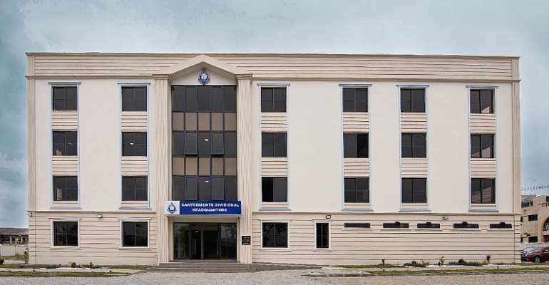 Goldkey Presents Modern Divisional Police Headquarters To The Cantonments Police