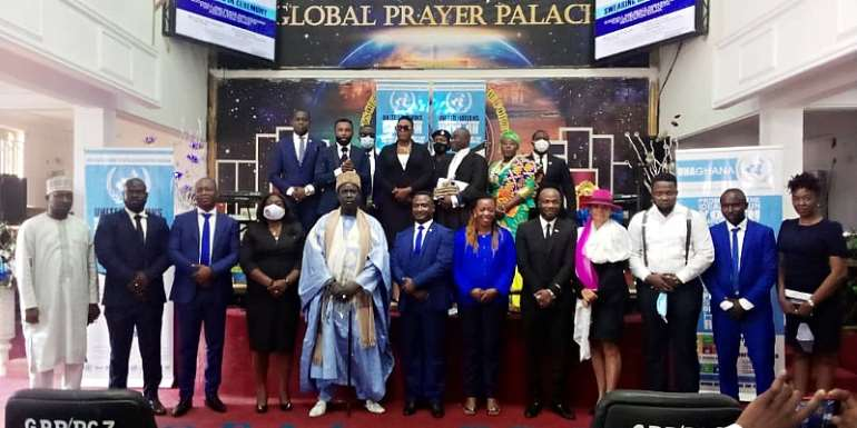 United Nations Youth Association-Ghana Swears In Ambassadors