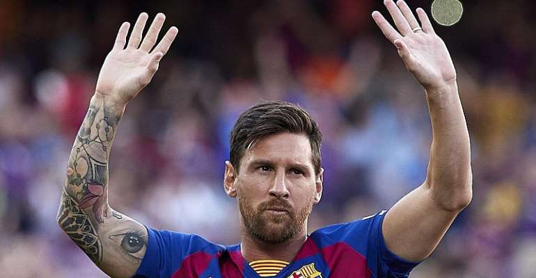 LIONEL MESSIIMAGE CREDIT: GETTY IMAGES