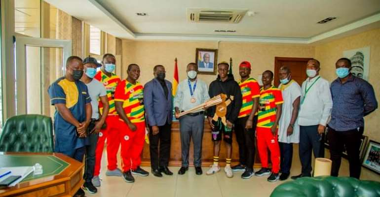 AMA to support Samuel Takyi and other emerging stars within Accra Metropolis