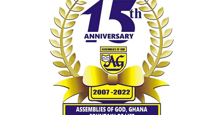 Fountain of Assemblies of God  to celebrate 15th anniversary