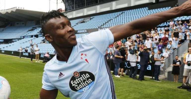 Joseph Aidoo Delighted With Good Stars At Celta Vigo