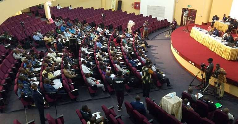 GFA Extraordinary Congress Underway At Physician And Surgeon's College