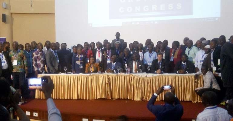 JUST IN: GFA Congress Says 'YES' To Proposed Statues By Normalization Committee