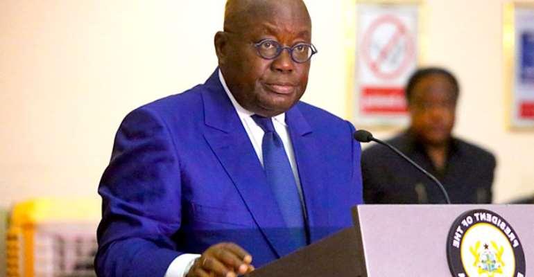Akufo-Addo Condemn Mahama's Akyem 'Sakawa' Comment