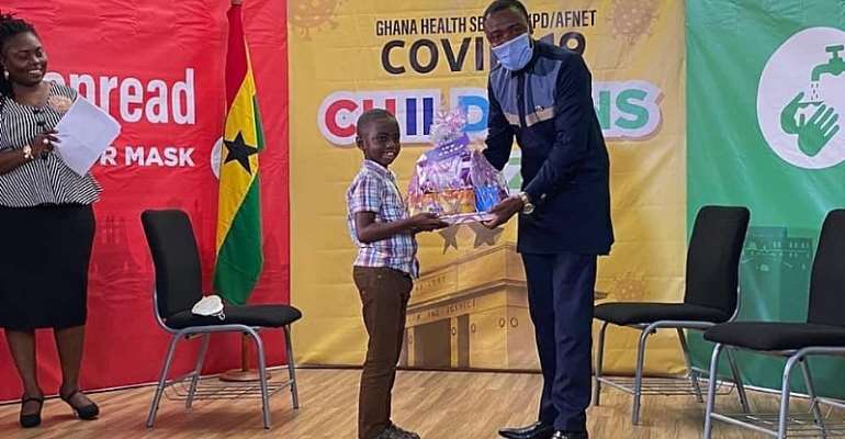 Ghana Health Service (GHS) Organises Covid-19 Quiz For Children