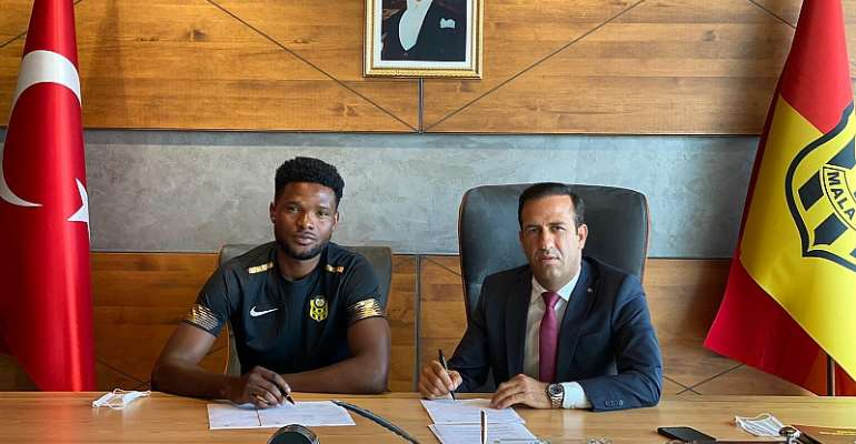 OFFICIAL: Yeni Malatyaspor Sign Ghanaian Winger Benjamin Tetteh On Loan
