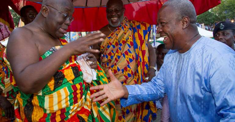 Akyem Sakawa: Learn To Control Your Temper, You've Lost Your Right To Complain – Mahama To Akufo-Addo