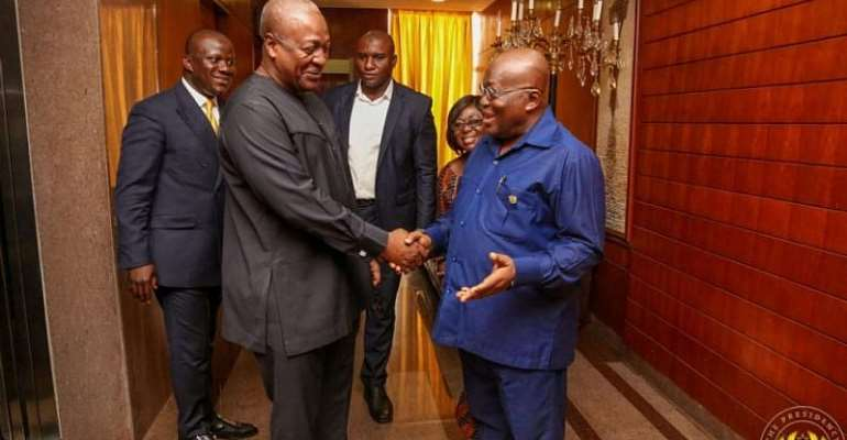 Your Attempt To Whip Up Ethnic Sentiments Will Not Wash – Mahama To Akufo-Addo