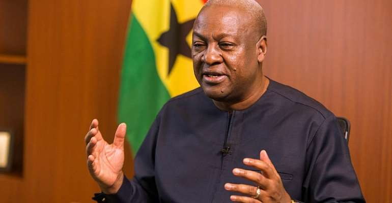 'I'll Be The Last To Pass Ethnocentric Comments' – Mahama To Akufo-Addo