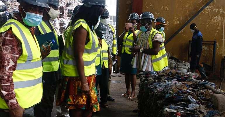Coordinating DirectorsFamiliarise With Zoomlion's Waste Plants