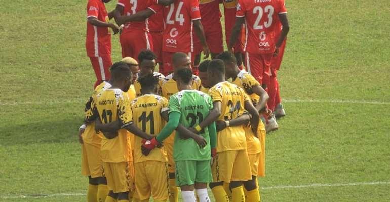 Asante Kotoko and AshantiGold SC