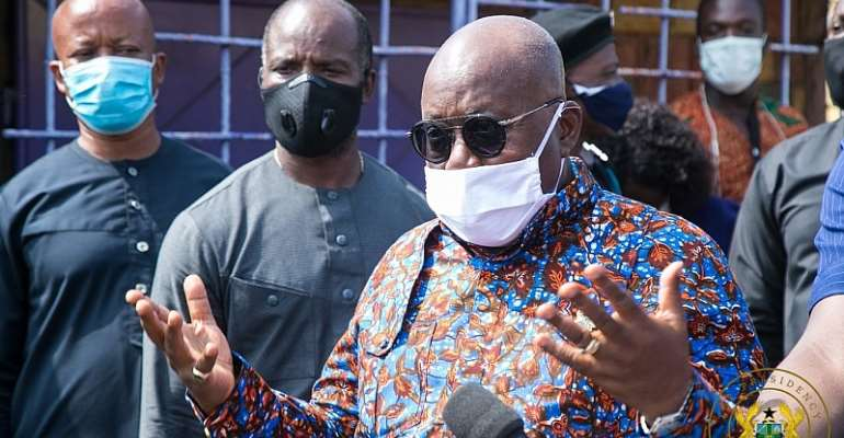 Akufo-Addo Urges Ask Citizens To Reprimand Mahama Over 'Akyem Sakawa' Comments