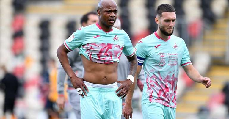Andre Ayew left disappointed