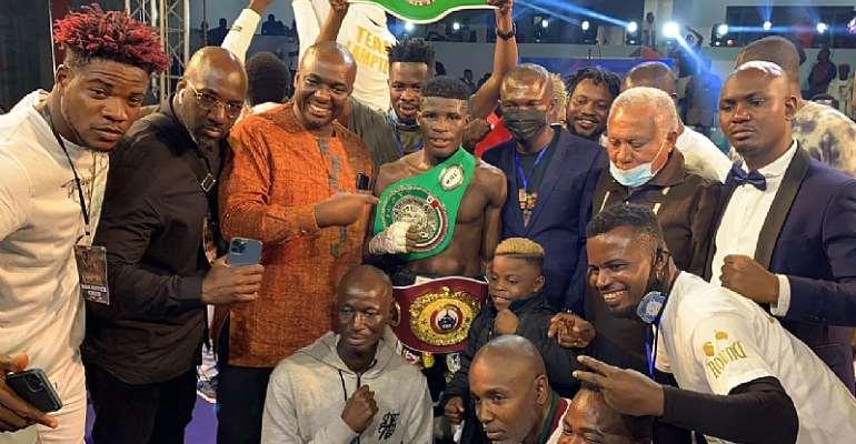 Ghana's Alfred Lamptey KOs Iddi Kayumba Of Tanzania To Win WBO/WBC Youth Titles