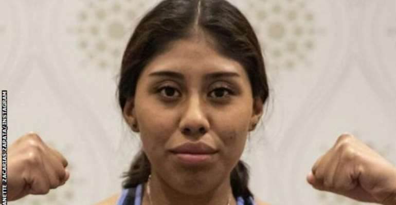 Jeanette Zacarias Zapata appeared to have a seizure in the ring and was taken to hospital after the fight