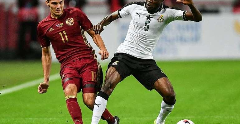 Statistics reveal Ghana were better than Russia despite friendly defeat