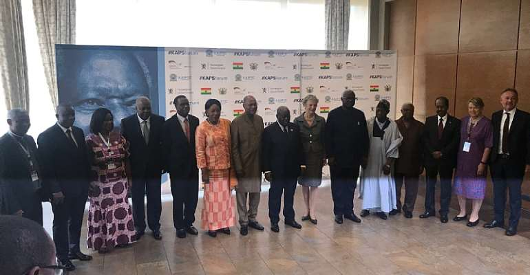 President Akufo-Addo, Former Heads of States Call For An End