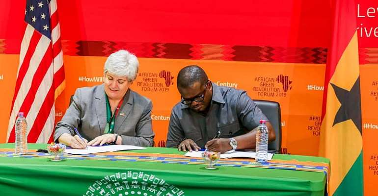 Ghana, US Sign Pact On Food Security