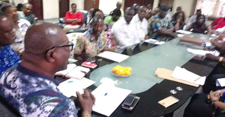 Bro Felix Obuah Charges RIWAMA Workers To Show Commitment To Work