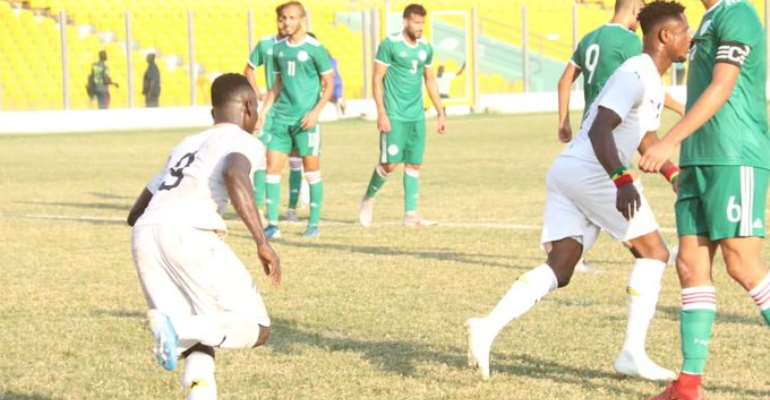 Ghana 1:1 Algeria – Black meteors Fail To Capitalize On Home Advantage