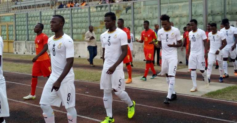 U-23 Cup Of Nations Qualifier: Ghana Hosts Algeria Today
