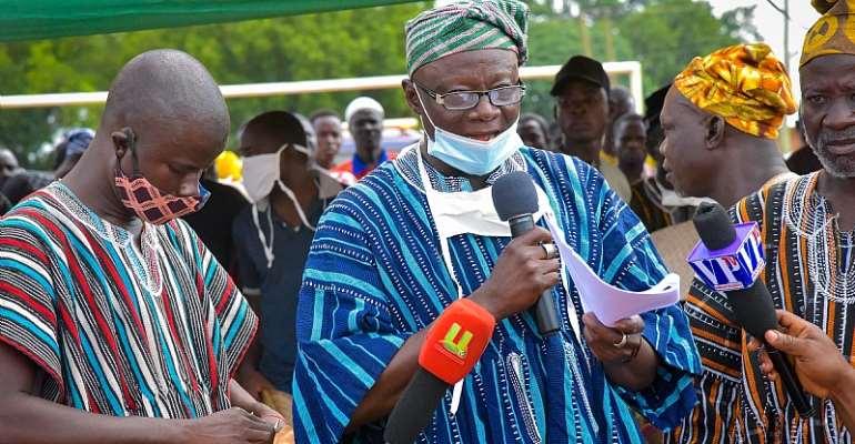Paramount chief of Zabzugu, Yelzoli-Lana Iddirisu Imoro II