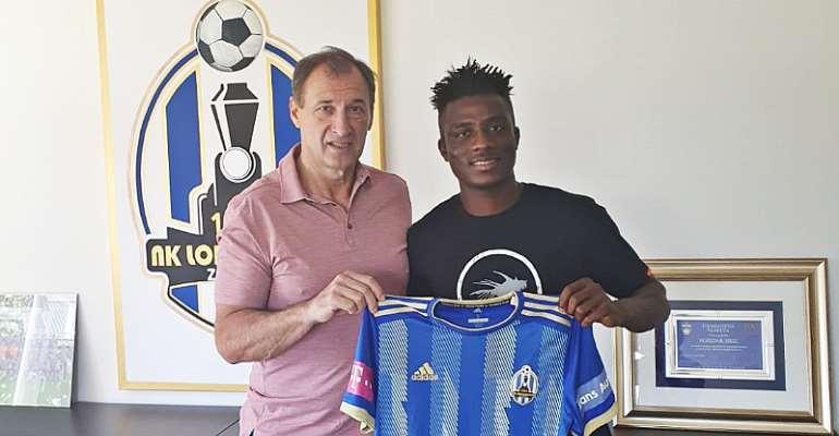 Ghanaian Midfielder Reuben Acquah Joins Croatian Club Lokomotiva Zagreb