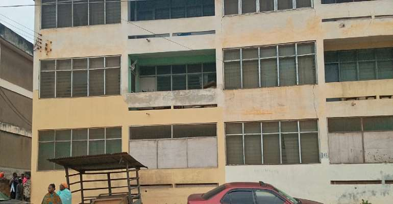 Out of persistent Beating, 12 year old Jumps from Second Floor at Ayikoo Ayikoo Flat a in Cape Coast