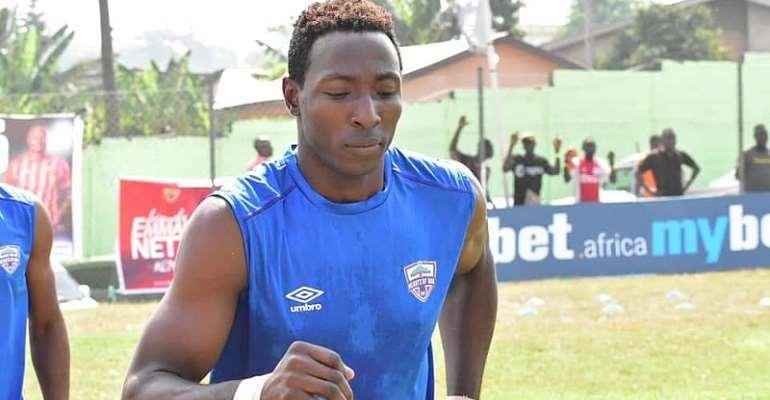 Hearts of Oak striker Kofi Kordzi