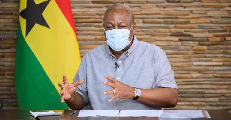 I'll Transform Ghana Into Advanced Nation If I Win – Mahama