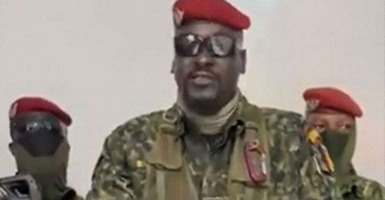 What we know about Guinea coup leader and war master Mamady Doumbouya