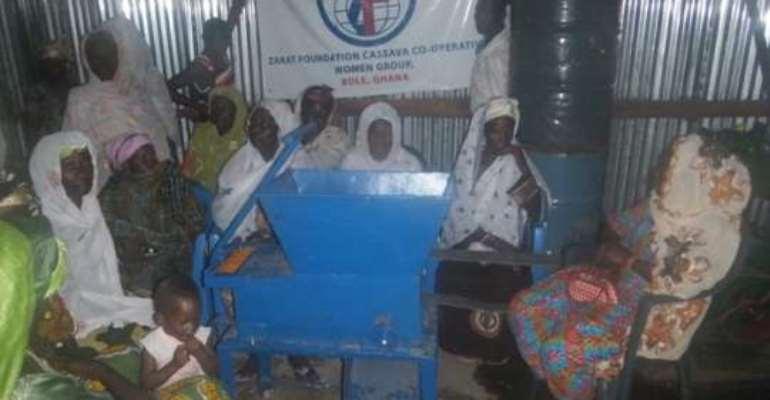 NGO sets up 80 women in Gari processing business