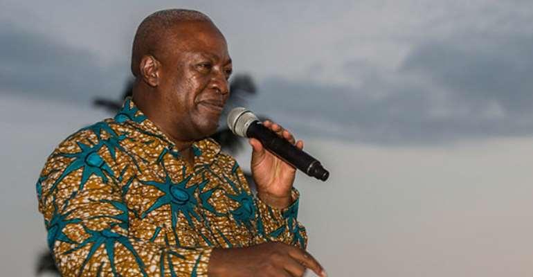 Mahama Defends Himself Claiming Nana Addo Attacked Him First