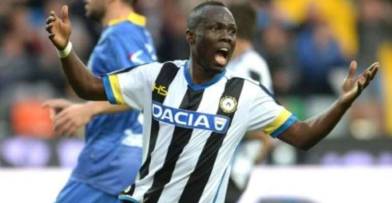 Udinese midfielder Agyemang Badu insists side can't win Italian Serie A