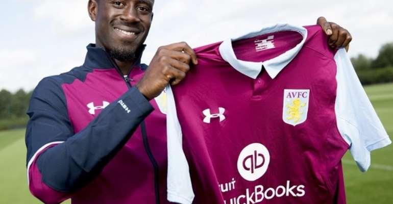 Albert Adomah: I couldn't sleep the night before I joined Aston Villa
