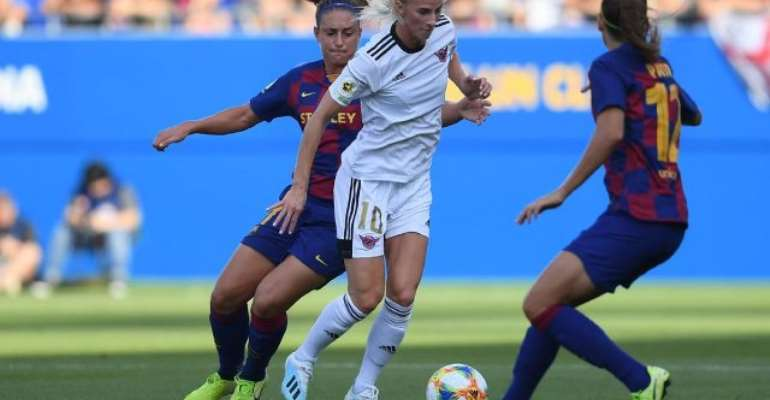 Barcelona Thrash Real Madrid's CD Tacon 9-1 In Unofficial Women's Clasico