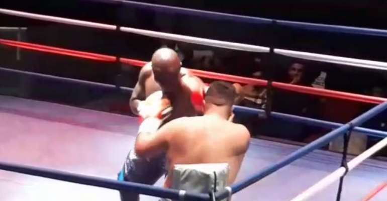 BREAKING NEWS: Bukom Banku Clinches First Ever Bout Outside Home [VIDEO]