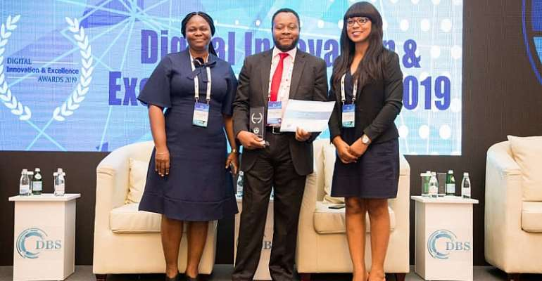 DBS: L-R: Yacoba Amuah, Head of Sales and Strategy , Inlaks; Olufunmilayo Okubena, Country Manager, Ghana Operations, Inlaks; Isabella Boettey-Kplivi, Head, Business Operations, Inlaks.